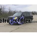 Trailer Wiring Harness Installation - 2004 Honda Pilot
