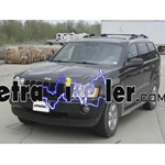 Trailer Wiring Harness Installation - 2005 Jeep Grand Cherokee