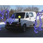 Trailer Wiring Harness Installation - 2007 Chevrolet Express Van