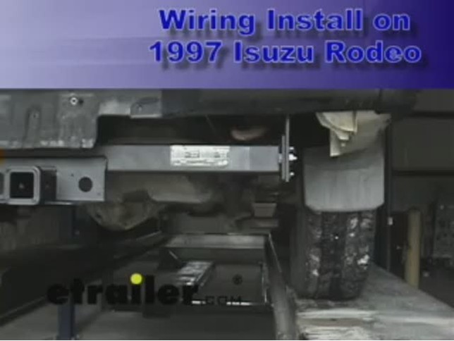 1996 Isuzu Rodeo T-One Vehicle Wiring Harness with 4-Pole ...