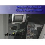 Trailer Wiring Harness Installation - 2004 Volvo XC90