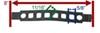 05002200000 - Cradle and Arm Parts SportRack Hitch Bike Racks
