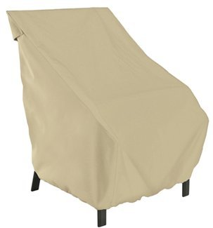 "Classic Accessories Patio Chair Cover - up to 20"" back Single Chair 052963589122"