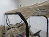Classic Accessories Travel 4-Sided Golf Cart Enclosure - Tan Tan 052963720525