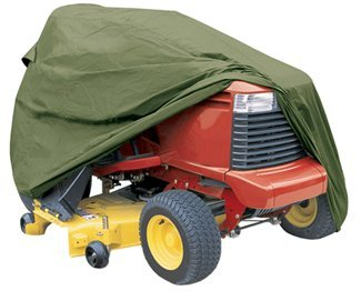 """Classic Accessories Lawn Tractor Cover - up to 54"""" Deck, Olive Green 052963739107"""