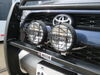 "Westin Off-Road Driving Lights - 6"" Diameter - Black Powder Coat - 1 Pair Spot Beam 09-0505 on 2019 Toyota 4Runner"