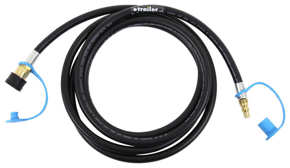 MB Sturgis Dual Quick Disconnect Propane Hose for Small Appliance - 10' 1/4 Inch - Male QD 100395-120-MBS
