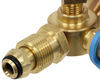 MB Sturgis Sturgi-Stay T-Fitting for POL Valve - 2 Model 250 Quick Disconnect Ports 1/4 Inch - Female QD 103537-MBS