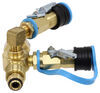 MB Sturgis Sturgi-Stay T-Fitting w/ Hoses for POL Valve - 2 Model 250 Quick Disconnect Ports POL - Female 103539-MBS