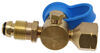 MB Sturgis Sturgi-Flow T-Fitting for Small Appliance - POL Valve - Disposable Cylinder Port POL - Male 103606
