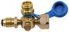 MB Sturgis Sturgi-Flow T-Fitting w/ Hose for POL Valve - Disposable Cylinder Port 12 Feet 103608