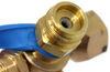 MB Sturgis Sturgi-Flow T-Fitting w/ Hose for POL Valve - Disposable Cylinder Port Adapter Hoses 103608