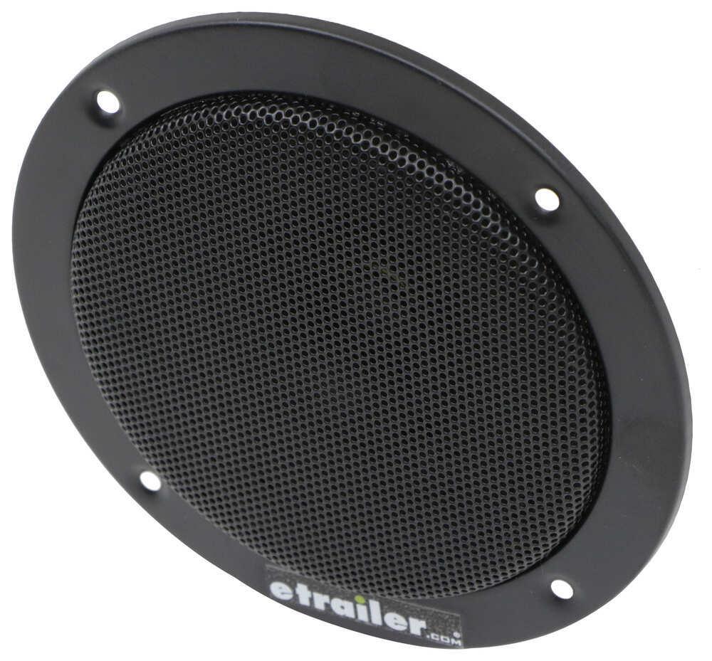 """Jensen Indoor RV Speaker - Recessed Mount - 6"""" Diameter - 24 Watts - Black - Qty 1 24 Watt 1102094"""