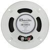 """Jensen Indoor RV Speaker - Recessed Mount - 6"""" Diameter - 24 Watts - White - Qty 1 White 1102094W"""