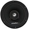 jensen rv speakers single speaker coaxial indoor - recessed mount 6 inch diameter 50 watts black- qty 1