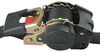 """Highland Retractable Ratchet Straps w/ Push Button Releases - 1"""" x 6' - 500 lbs - Qty 2 6 - 10 Feet Long 1151801"""