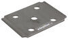 """U-Bolt Plate for 2"""" Square Axle - 1-3/4"""", 2"""" Springs - 9/16"""" Bolts 9/16 Inch Diameter 117594"""