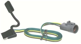 [QMVU_8575]  Tow Package Wiring Harness with 4 Pole Trailer Connector Tekonsha Custom  Fit Vehicle Wiring 118241 | 1997 Ford Explorer Wiring Harness |  | etrailer.com