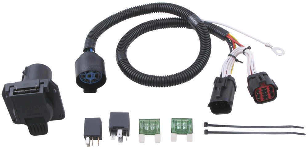 Custom Fit Vehicle Wiring 118242 - 7 Blade - Tekonsha