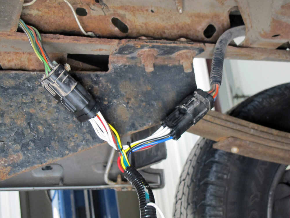 Ford Replacement OEM Tow Package Wiring Harness, 7-Way Tekonsha Custom Fit  Vehicle Wiring 118242etrailer.com