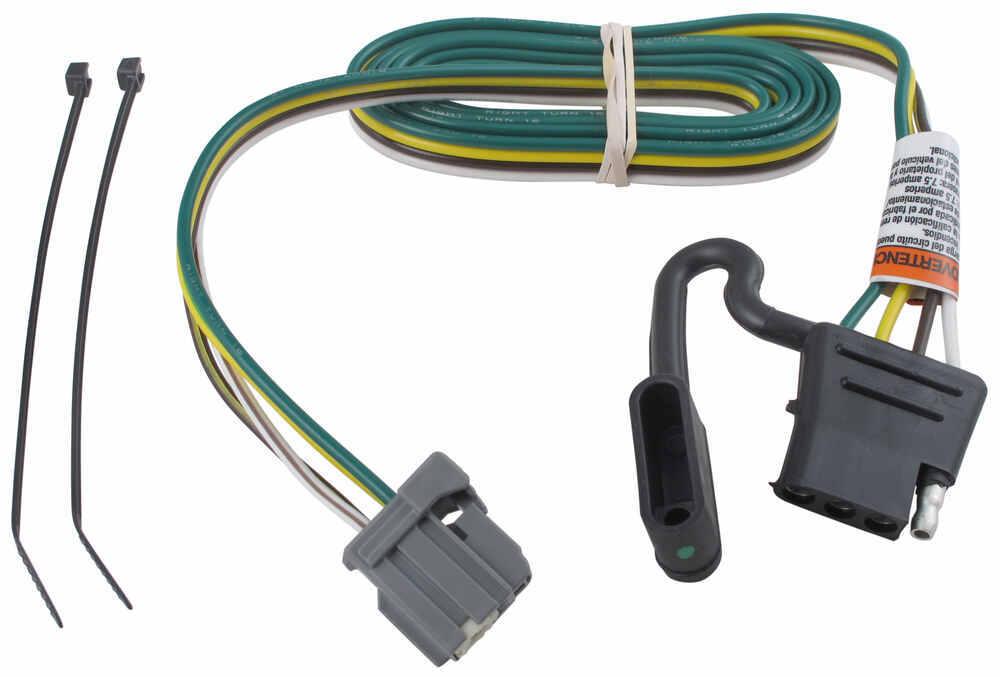 Custom Fit Vehicle Wiring 118264 - 4 Flat - Tekonsha