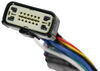 T-One Vehicle Wiring Harness with 7-Way Trailer Connector No Converter 118283
