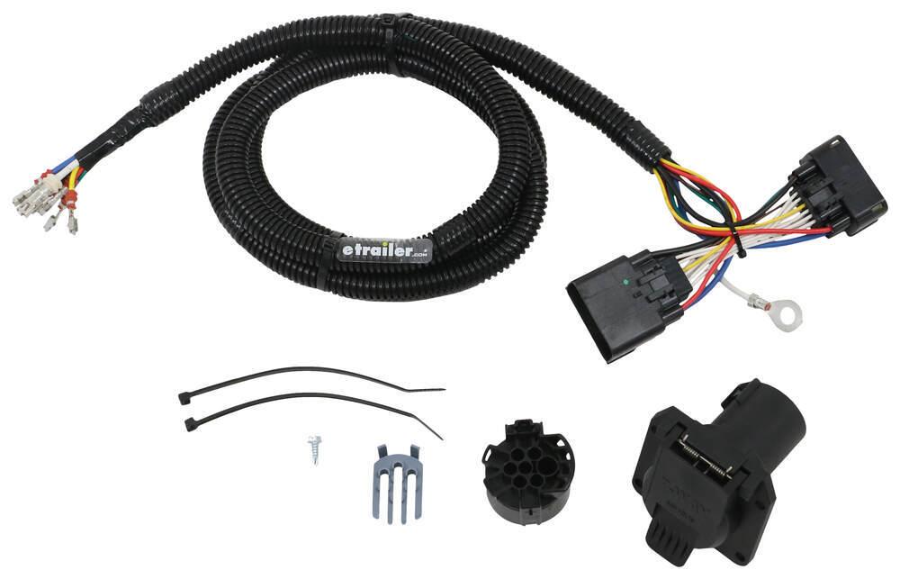 Custom Fit Vehicle Wiring 118283 - Custom Fit - Tekonsha