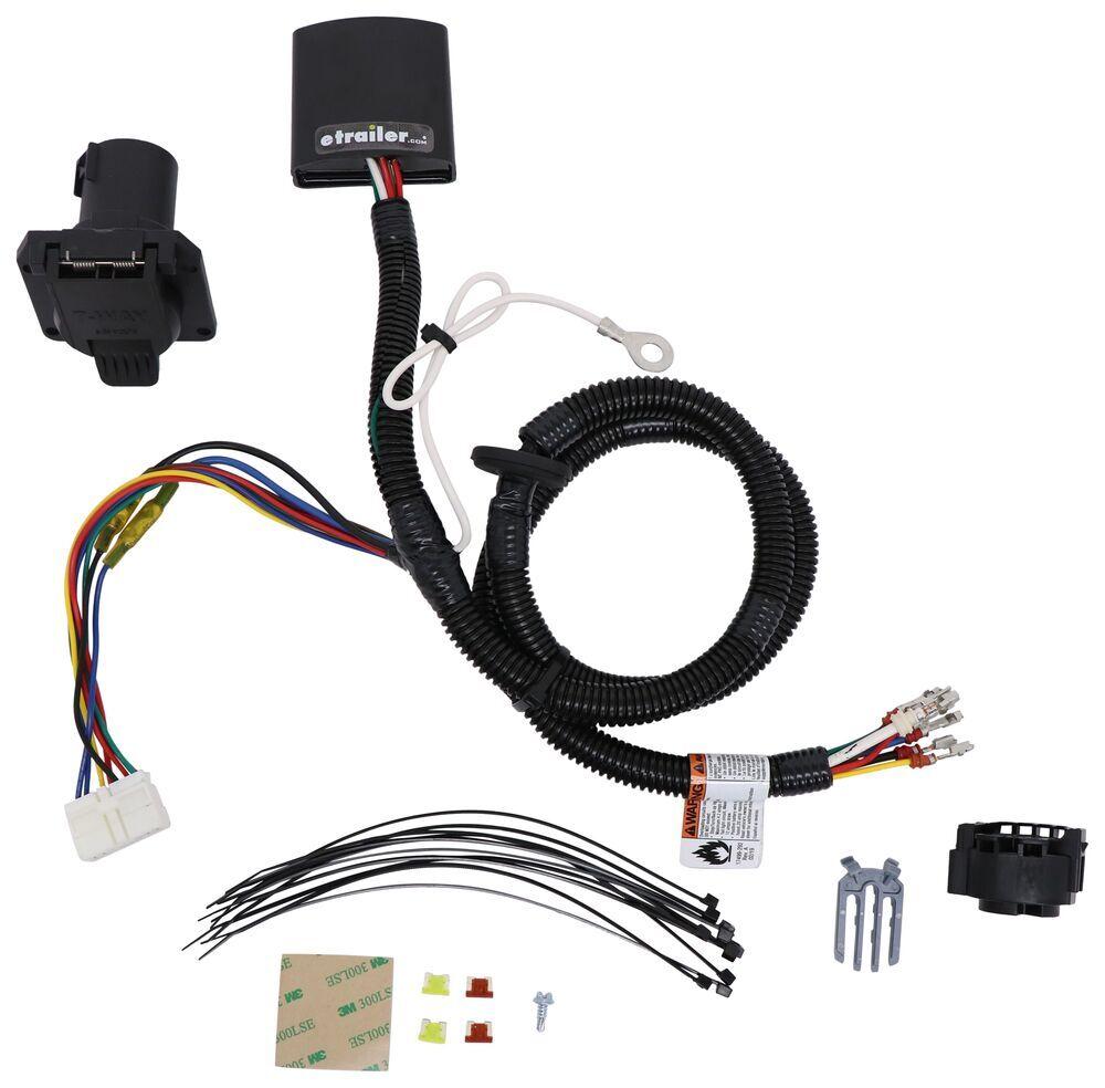 118289 - 7 Blade Tekonsha Custom Fit Vehicle Wiring
