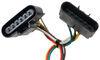 Custom Fit Vehicle Wiring 118301 - 4 Flat - Tekonsha