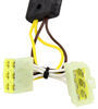 T-One Vehicle Wiring Harness with 4-Pole Flat Trailer Connector Converter 118379