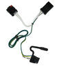 Custom Fit Vehicle Wiring 118381 - 4 Flat - Tekonsha