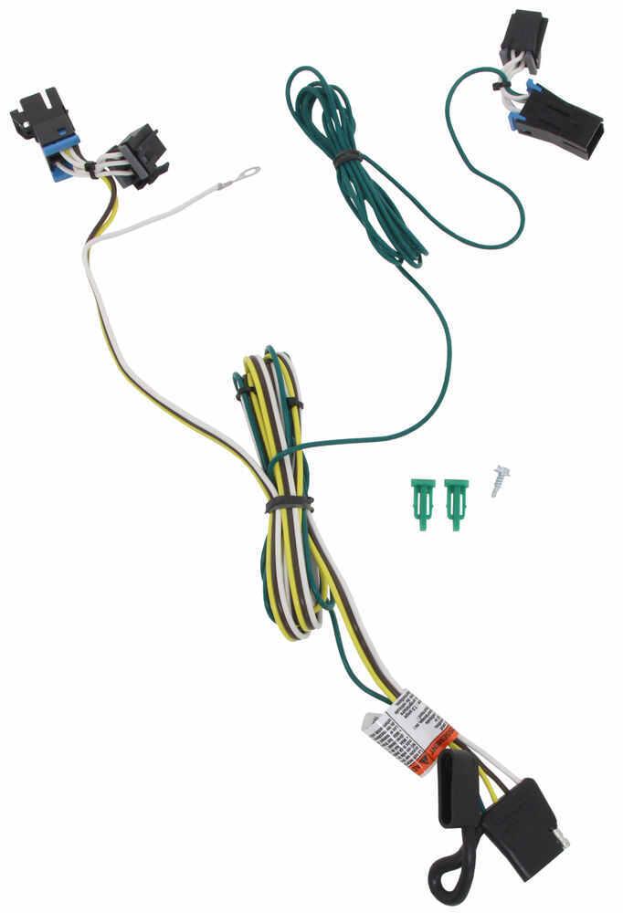118392 - Custom Fit Tekonsha Trailer Hitch Wiring