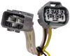 Custom Fit Vehicle Wiring 118394 - 4 Flat - Tekonsha