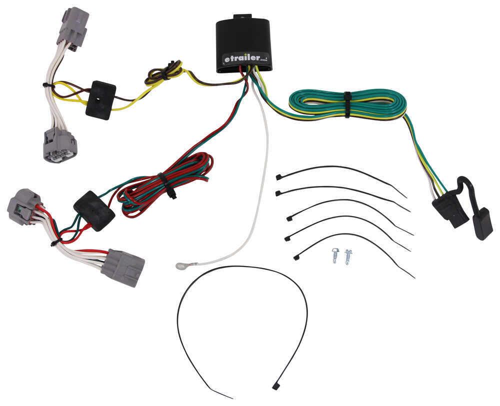 118394 - 4 Flat Tekonsha Custom Fit Vehicle Wiring