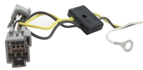 Ford Freestyle T-One Vehicle Wiring Harness with 4-Pole Flat Trailer  Connectoretrailer.com