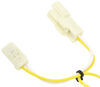 T-One Vehicle Wiring Harness with 4-Pole Flat Trailer Connector Powered Converter 118405