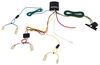 T-One Vehicle Wiring Harness with 4-Pole Flat Trailer Connector Custom Fit 118405