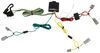 T-One Vehicle Wiring Harness with 4-Pole Flat Trailer Connector 4 Flat 118420