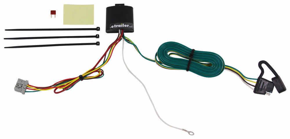 118438 - 4 Flat Tekonsha Custom Fit Vehicle Wiring