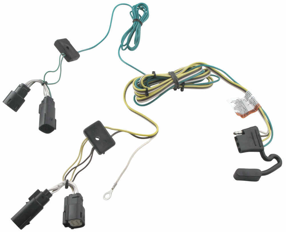 Tekonsha Custom Fit Custom Fit Vehicle Wiring - 118472