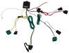 Custom Fit Vehicle Wiring 118474 - 4 Flat - Tekonsha