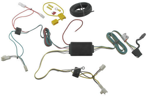 T-One Vehicle Wiring Harness with 4-Pole Flat Trailer Connector Tekonsha  Custom Fit Vehicle Wiring 118478etrailer.com