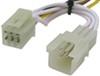 tekonsha custom fit vehicle wiring powered converter 4 flat 118511