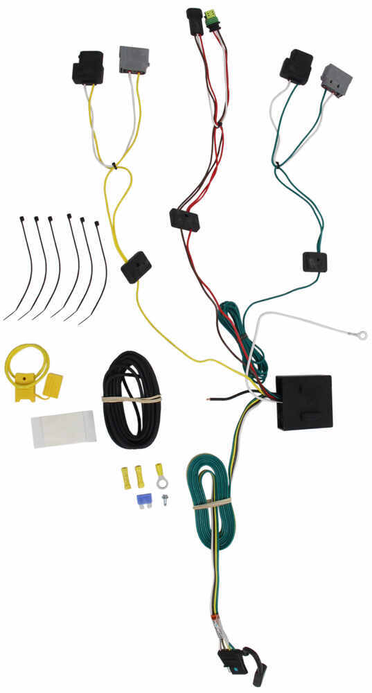 Custom Fit Vehicle Wiring 118536 - Custom Fit - Tekonsha