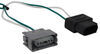 T-One Vehicle Wiring Harness with 4-Pole Flat Trailer Connector Custom Fit 118536