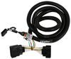 Custom Fit Vehicle Wiring 118540 - 4 Flat - Tekonsha