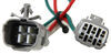 T-One Vehicle Wiring Harness with 4-Pole Flat Trailer Connector Powered Converter 118573