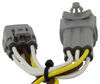 T-One Vehicle Wiring Harness with 4-Pole Flat Trailer Connector 4 Flat 118573