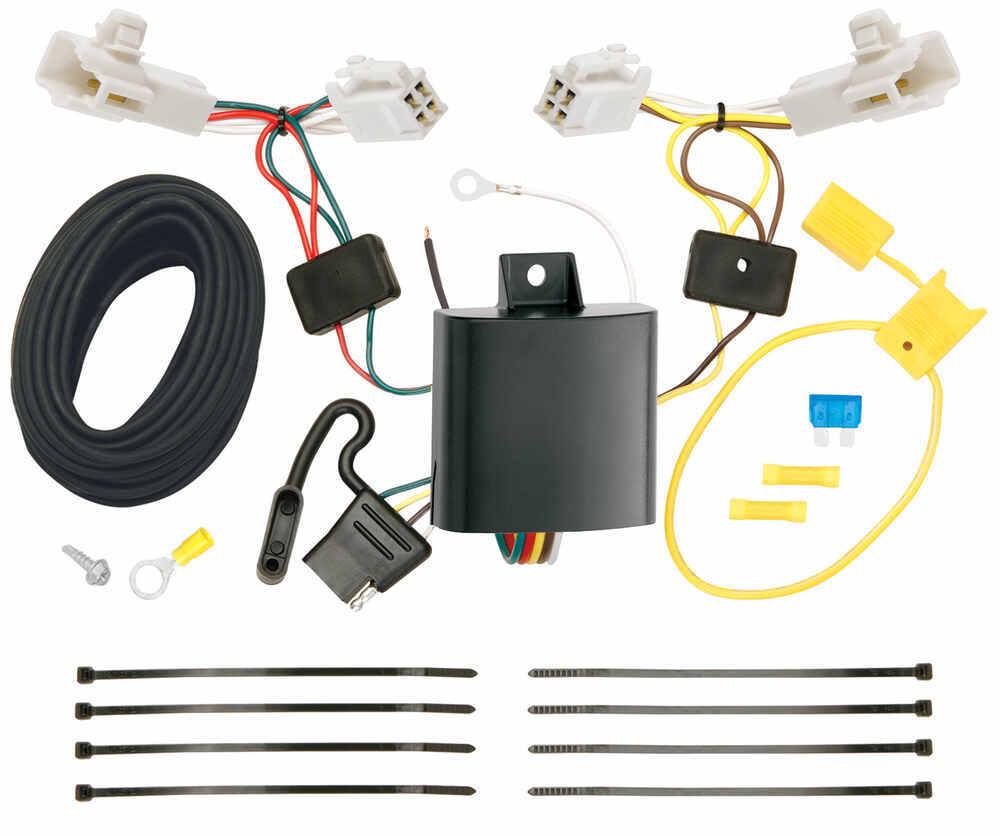 Custom Fit Vehicle Wiring 118578 - 4 Flat - Tekonsha