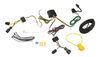 T-One Vehicle Wiring Harness with 4-Pole Flat Trailer Connector Powered Converter 118583